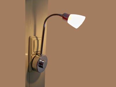 Lamp voor in stopcontact