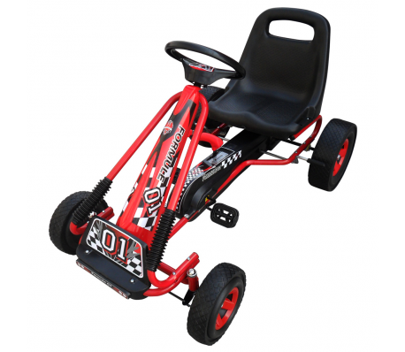 VidaXL - Skelter F1 Junior rood