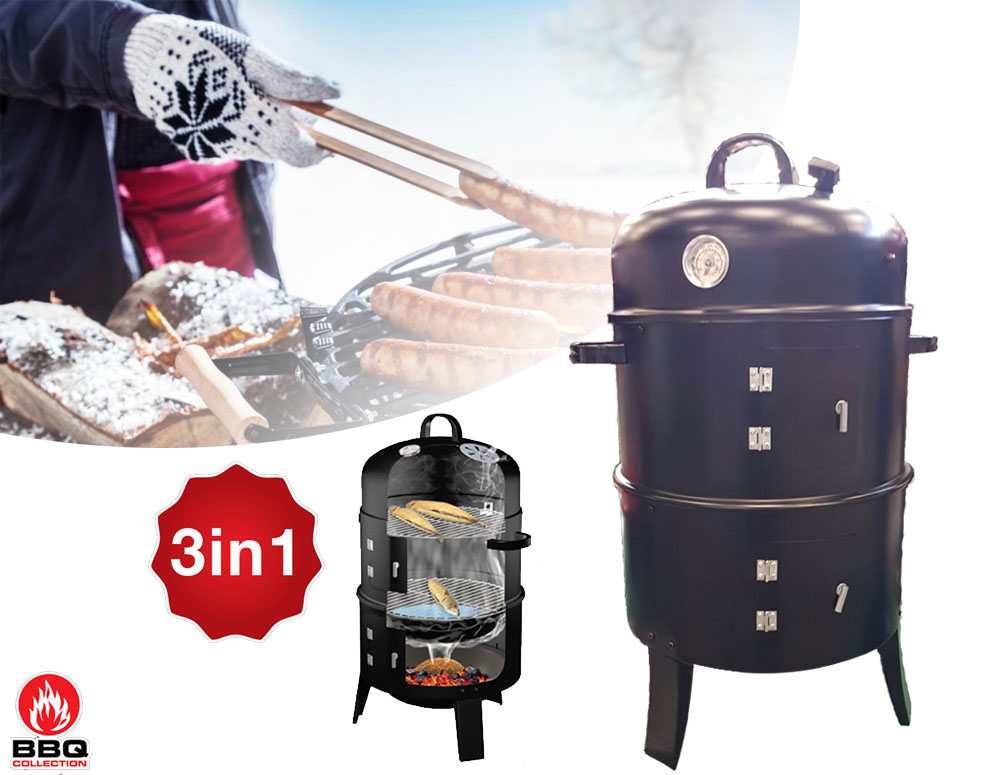 vsdeal.com - BBQ Collection 3 in 1 Rookoven