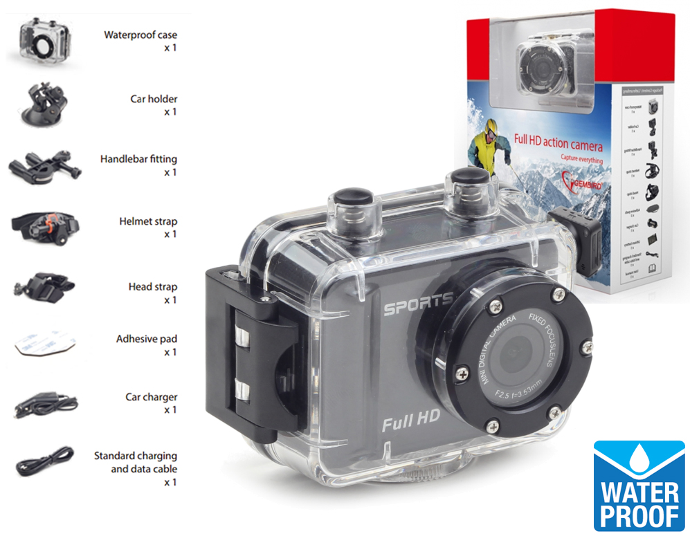 vsdeal.com - Full-HD Waterdichte Action Camera