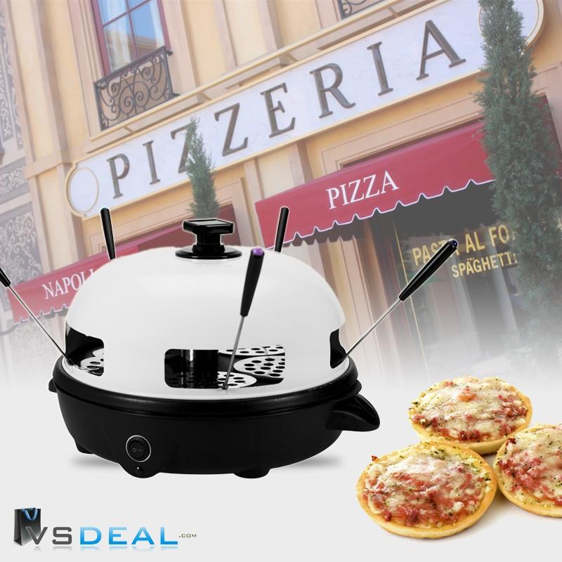 Gusta tafel pizza oven 5 persoons op op dagelijkse for Pizza bakken op tafel