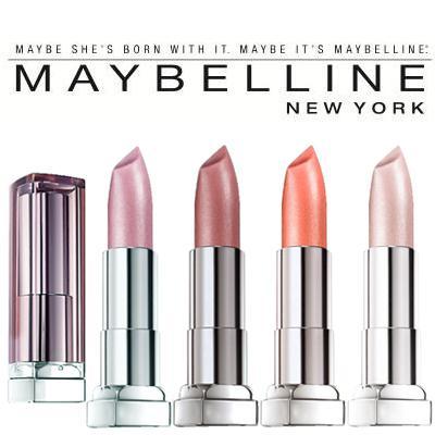 3 X Maybelline Color Sensational Lipstick PINK PETAL #125